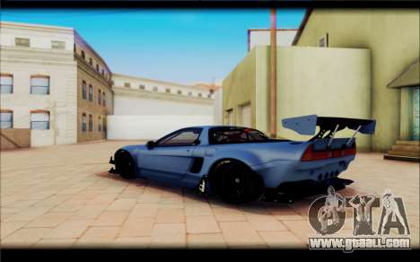 Honda NSXR Rocket Bunny for GTA San Andreas left view