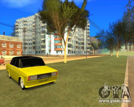 VAZ 2105 Golden Brodyaga Tuned for GTA San Andreas right view