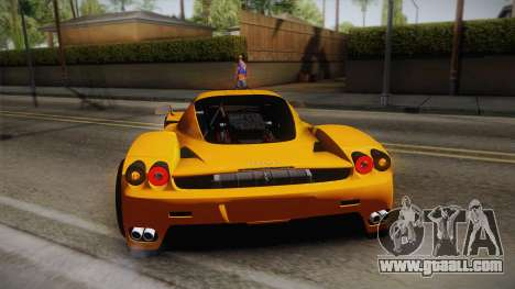 Ferrari Enzo Novitec Rosso for GTA San Andreas upper view