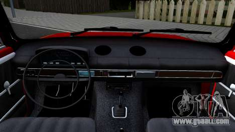 VAZ 2101 V3 GVR for GTA San Andreas inner view