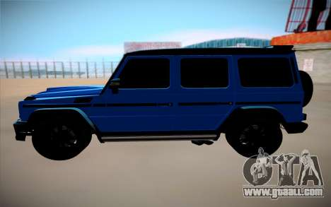Mercedes-Benz G Brabus for GTA San Andreas left view