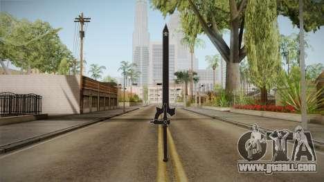 Sword Art Online - Elucidator for GTA San Andreas second screenshot