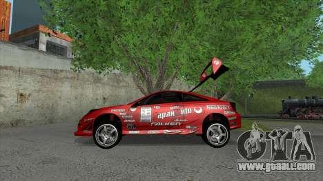 Toyota Celica Tunable for GTA San Andreas wheels