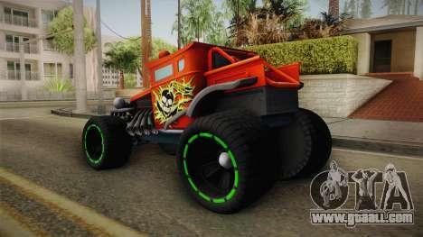 Hot Wheels Baja Bone Shaker for GTA San Andreas left view