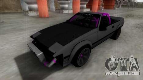 1984 Toyota Celica Supra Cabrio Drift Monster for GTA San Andreas