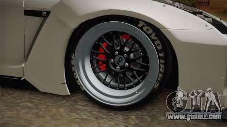 Nissan GT-R R35 Pandem Rocket Bunny for GTA San Andreas