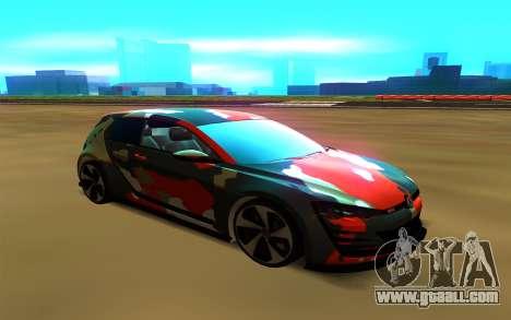 Volkswagen Golf Design Vision GTI for GTA San Andreas