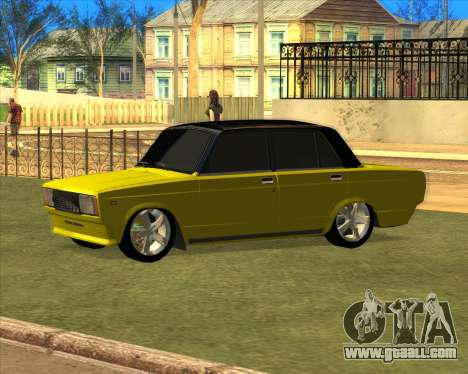 VAZ 2105 Golden Brodyaga Tuned for GTA San Andreas left view
