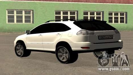 Lexus RX300 for GTA San Andreas left view