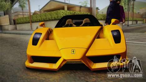 Ferrari Enzo Novitec Rosso for GTA San Andreas right view