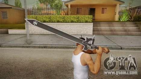 Sword Art Online - Elucidator for GTA San Andreas third screenshot