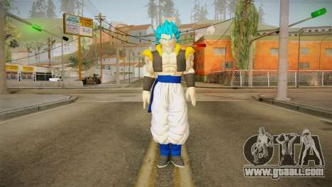DBX2 - Gogeta SSB for GTA San Andreas second screenshot