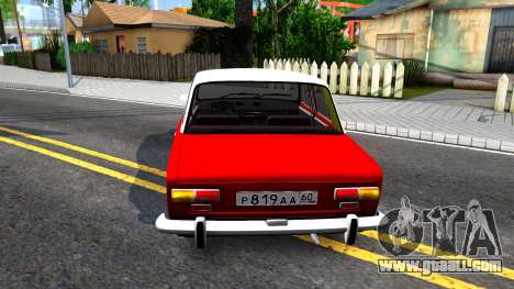 VAZ 2101 V3 GVR for GTA San Andreas back left view