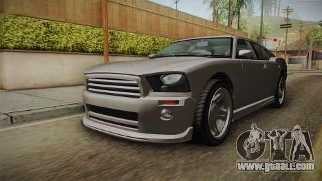 EFLC TBoGT Bravado Buffalo Supercharged for GTA San Andreas right view