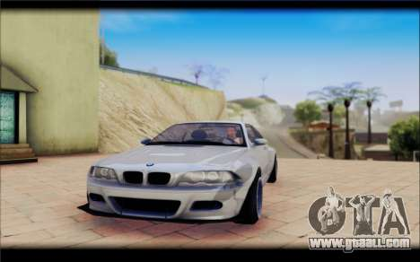 BMW M3 Е46 CSL for GTA San Andreas right view