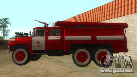 131Н ZIL AC-40 Fire for GTA San Andreas left view