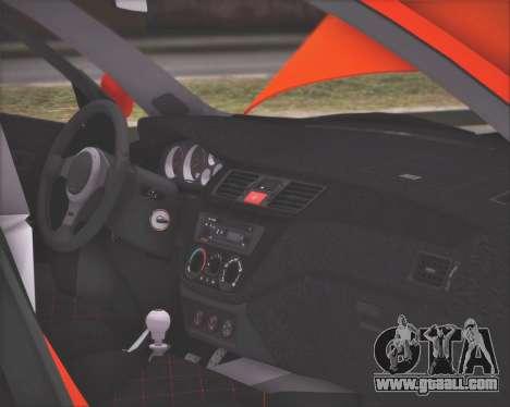 Mitsubishi Lancer Evolution IX MR LPcars for GTA San Andreas