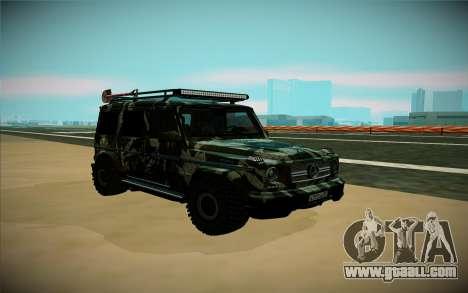Mercedes-Benz G for GTA San Andreas