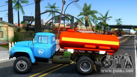ZIL 130 fire Ladder for GTA San Andreas left view