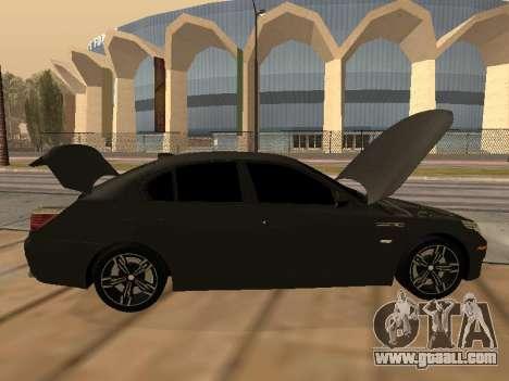 BMW M5 E60 Armenian for GTA San Andreas side view