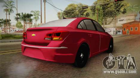 Chevrolet Cruze LS Beta for GTA San Andreas back left view