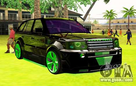 Land Rover Range Rover Sports Light Tuning for GTA San Andreas right view