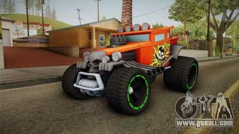 Hot Wheels Baja Bone Shaker for GTA San Andreas back left view