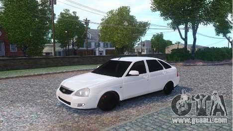 Lada Priora Hatchback for GTA 4