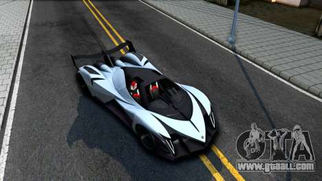 Devel Sixteen for GTA San Andreas right view