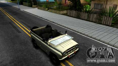 UAZ 31512 for GTA San Andreas right view