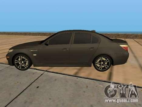 BMW M5 E60 Armenian for GTA San Andreas left view