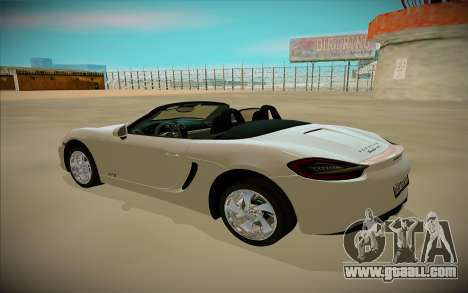 Porcshe Boxster GTS for GTA San Andreas