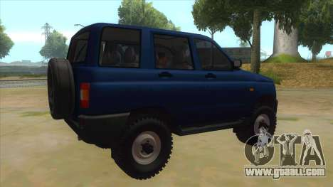 UAZ 3160 for GTA San Andreas right view