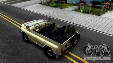 UAZ 31512 for GTA San Andreas back view