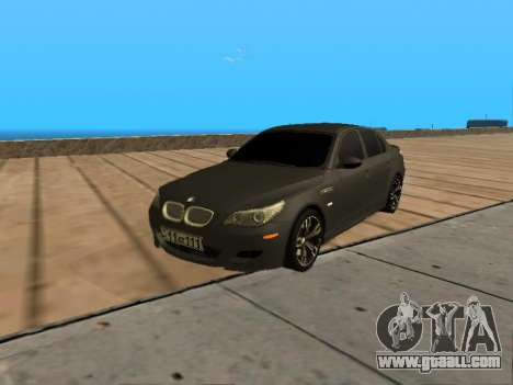 BMW M5 E60 Armenian for GTA San Andreas