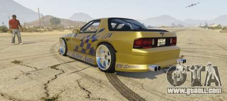 GTA 5 Mazda Fc3 BN SPORTS left side view