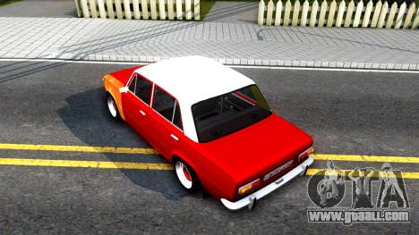 VAZ 2101 V3 GVR for GTA San Andreas back view