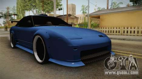 Nissan 240SX for GTA San Andreas right view