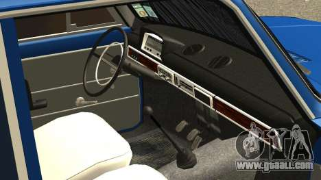 VAZ 2101 for GTA San Andreas bottom view