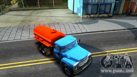 ZIL 130 fire Ladder for GTA San Andreas right view