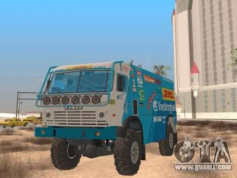 KamAZ Master 4911 for GTA San Andreas