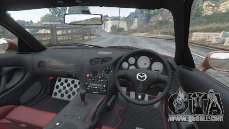 GTA 5 Mazda RX-7 Spirit R Type A (FD3S) 2002 [add-on] rear right side view