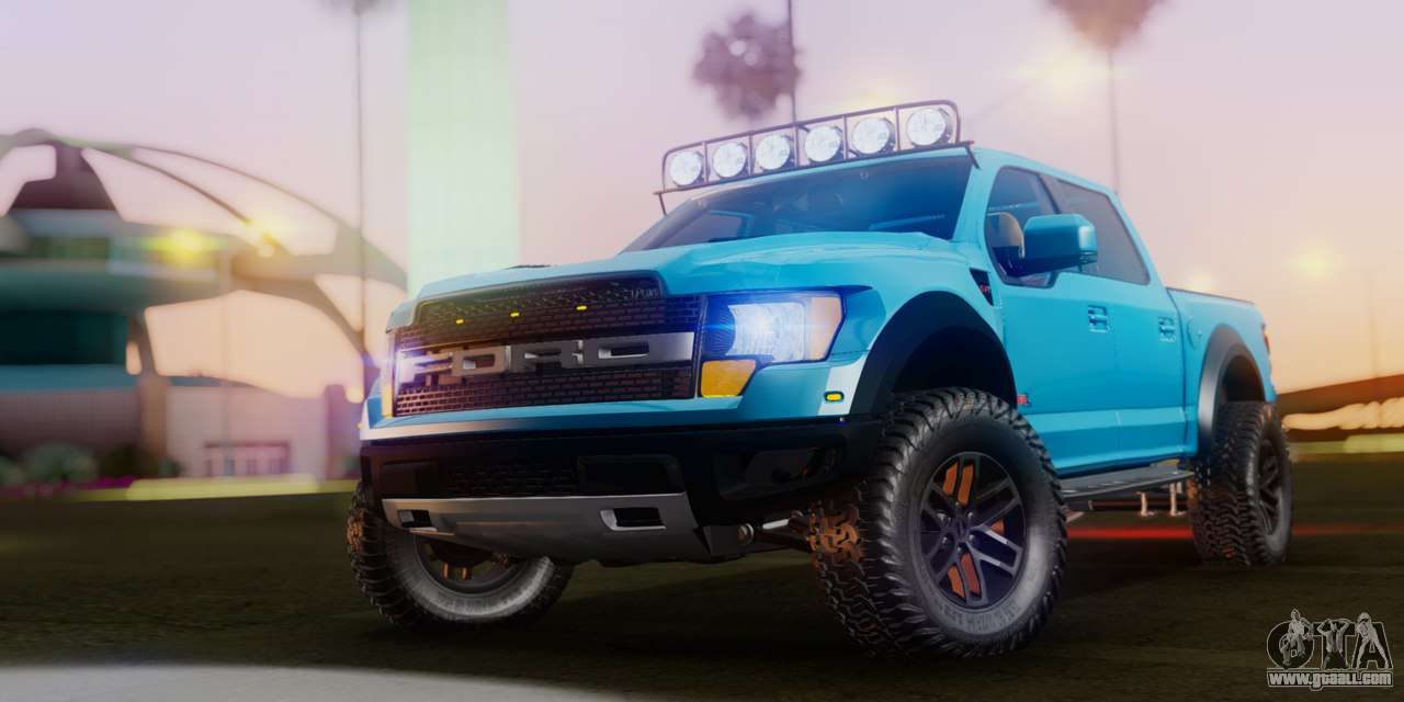 Ford F-150 Raptor LP Cars Tuning for GTA San Andreas