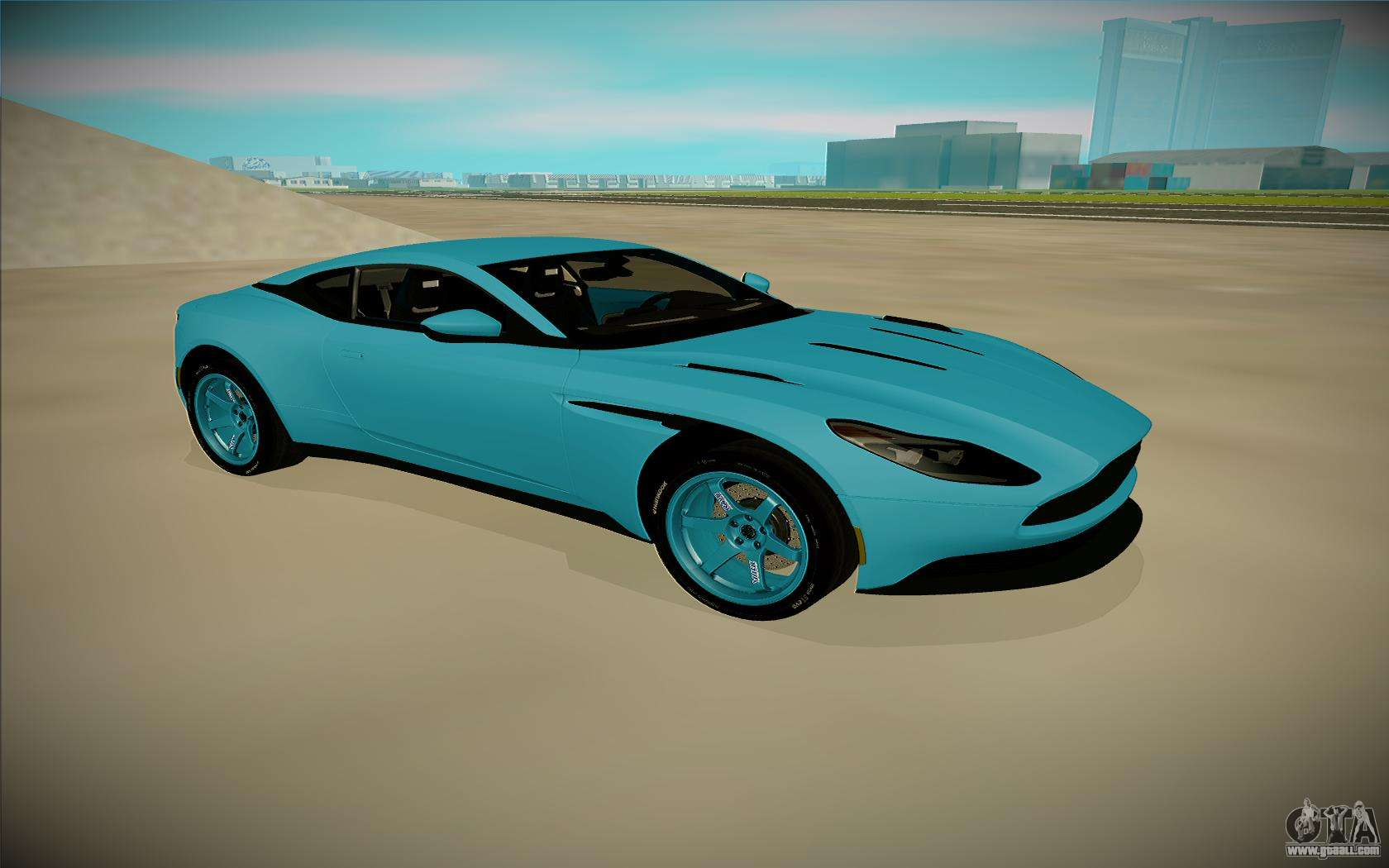 aston martin db11 for gta san andreas