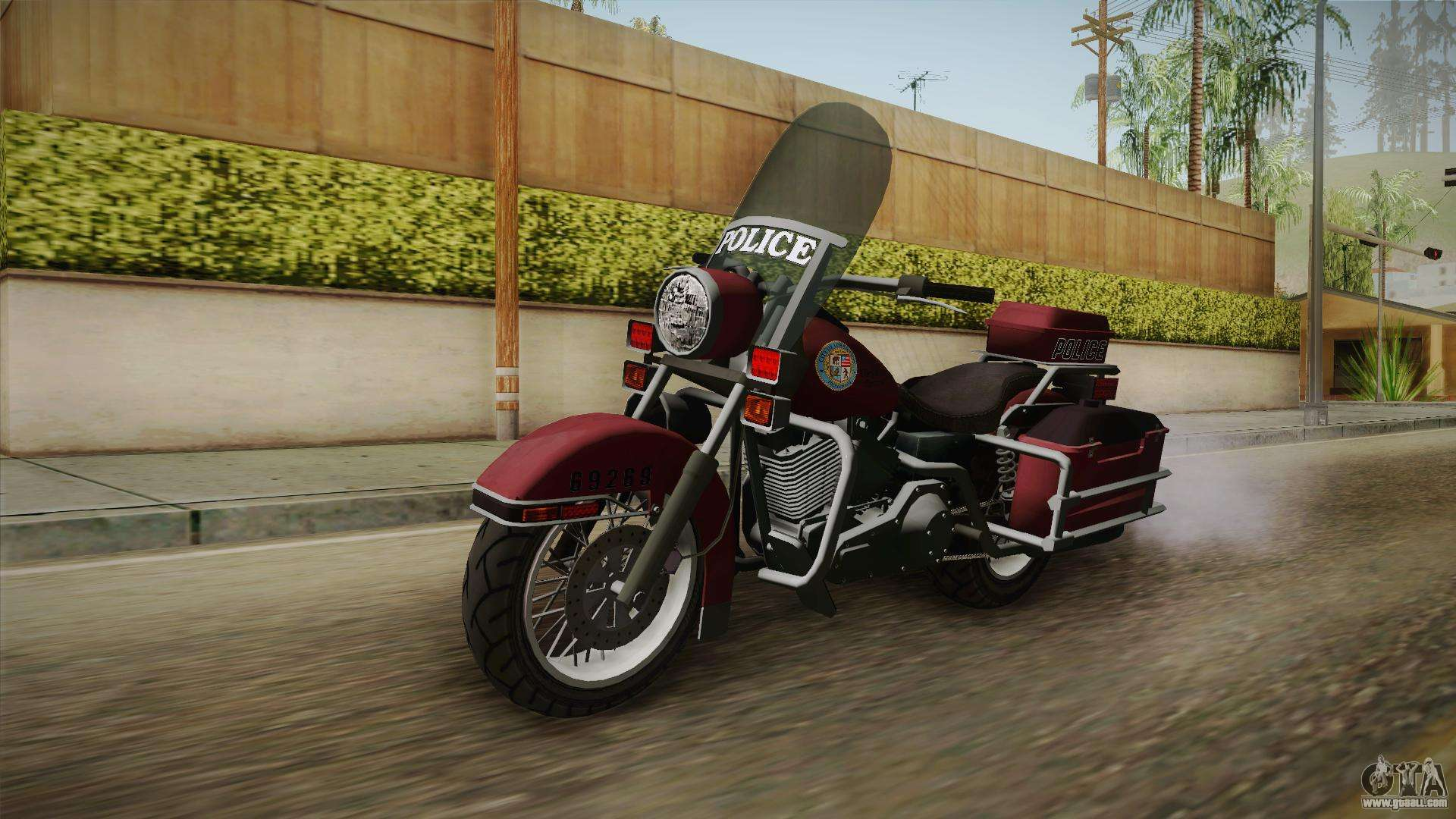 GTA 5 Police Bike for GTA San Andreas