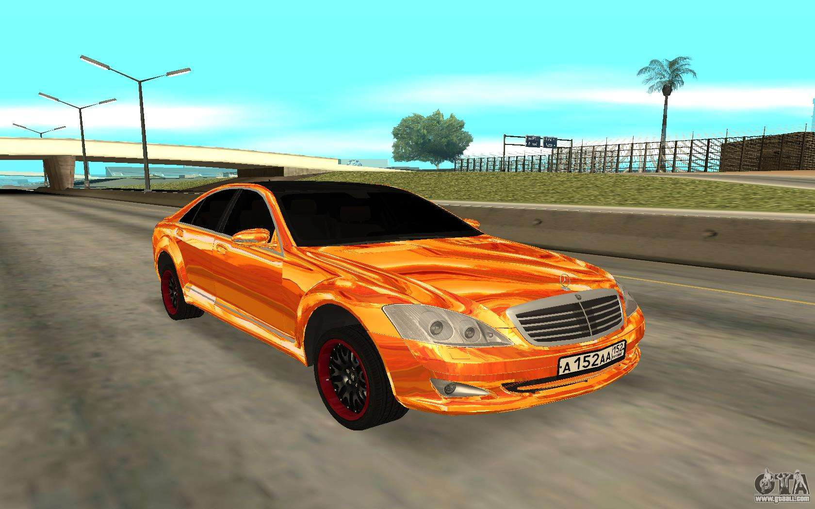 Mercedes benz s600 for gta san andreas for Mercedes benz s600