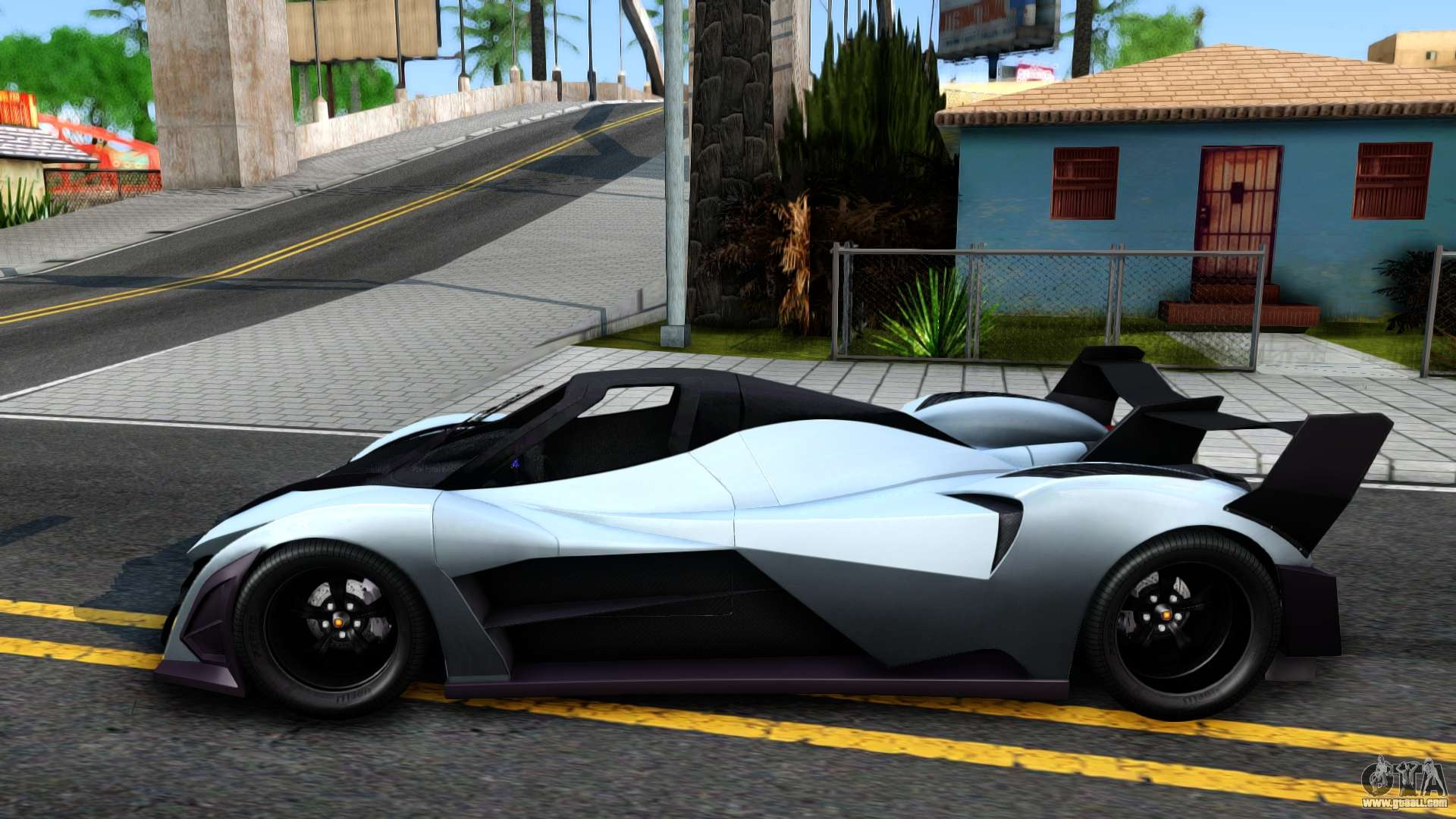 Devel Sixteen for GTA San Andreas