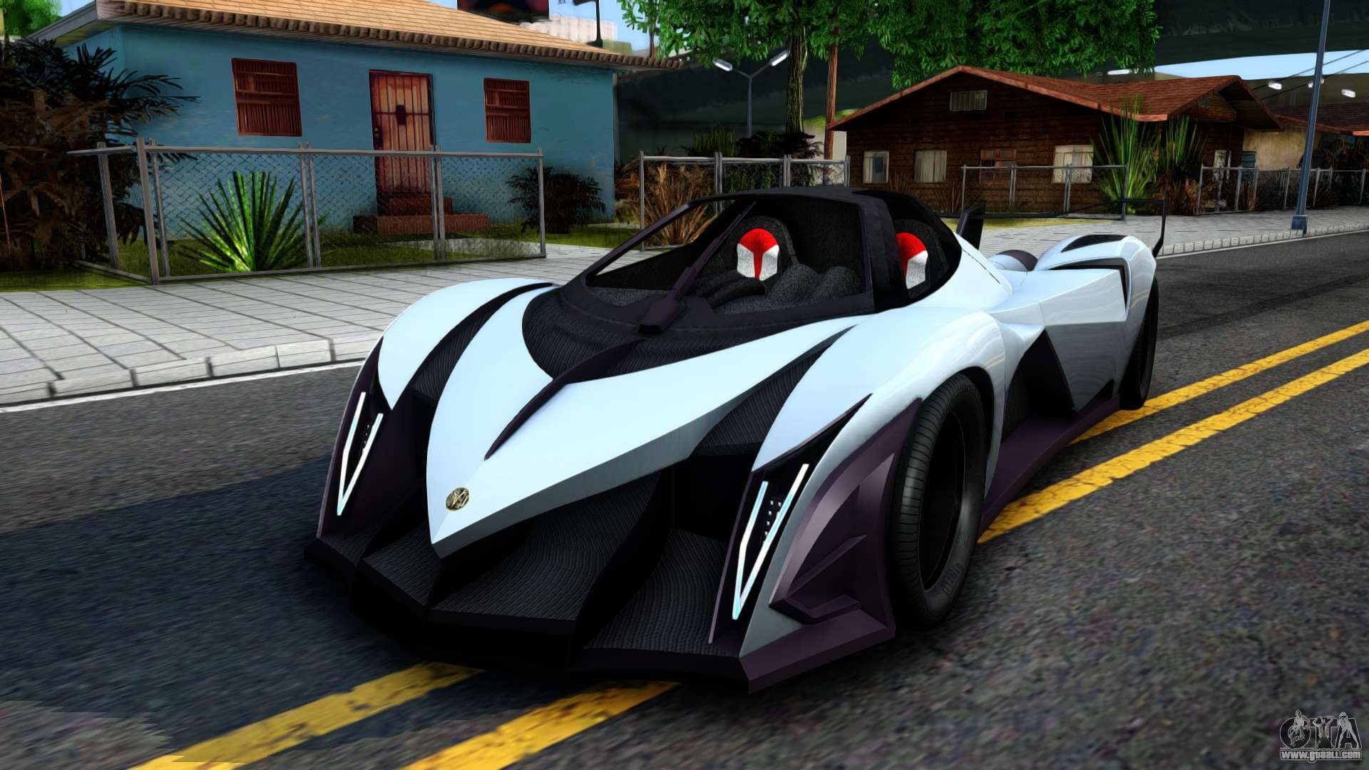 devel sixteen for gta san andreas. Black Bedroom Furniture Sets. Home Design Ideas