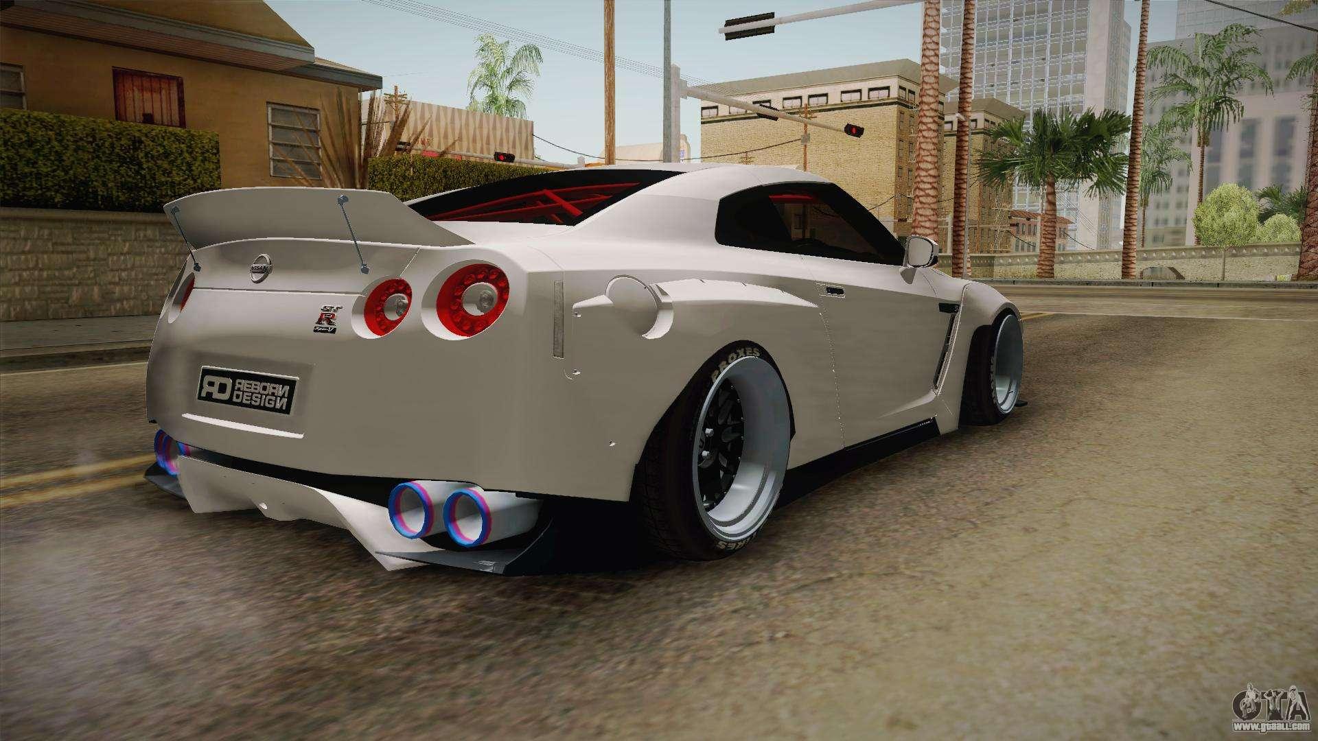 Nissan Gt R R35 Pandem Rocket Bunny For Gta San Andreas