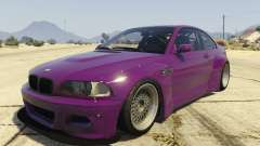 BMW M3 E46 Pandem Rocket Bunny for GTA 5